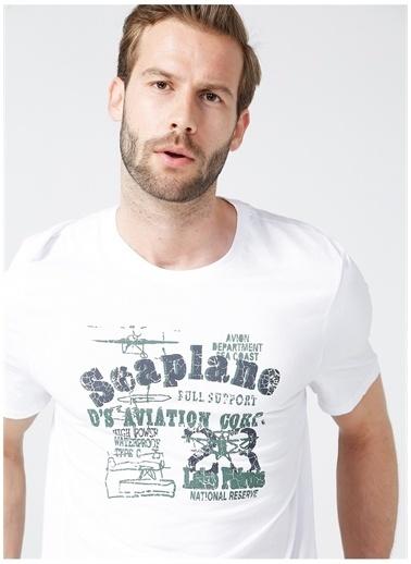 D'S Damat Ds Damat T-Shirt Beyaz